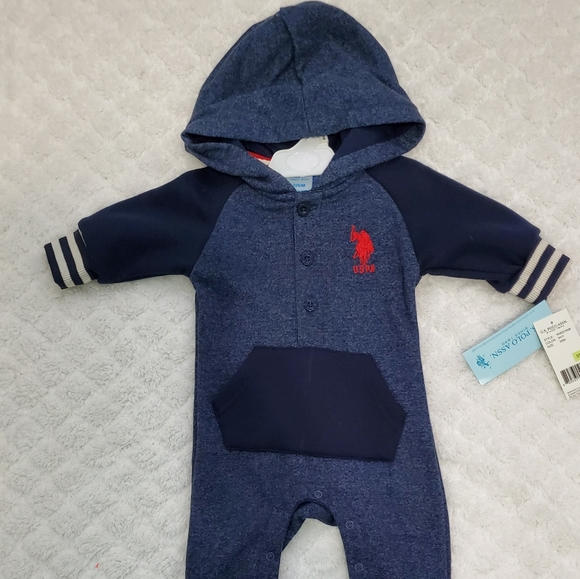 POLO  BY RALPH LAUREN  BABY JUMPSUIT